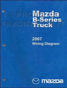 2001 Mazda B Series Pickup Truck Wiring Diagram Original B250b300b4000