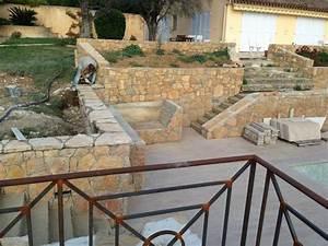 Outillage Taille De Pierre : r alisation de mur de restanque en pierre de taille ~ Dailycaller-alerts.com Idées de Décoration