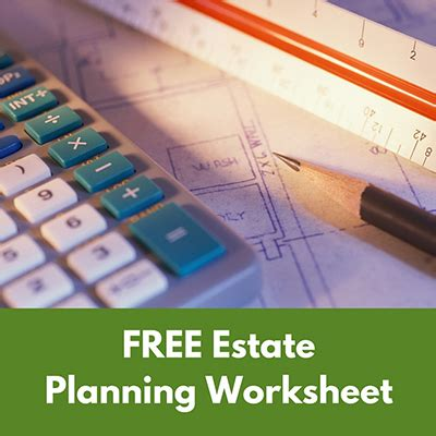 Free Estate Planning Worksheet  Debruyckere Law Offices In Nh & Ma