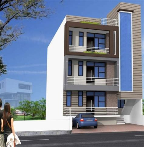3 Storey Apartment Building Design