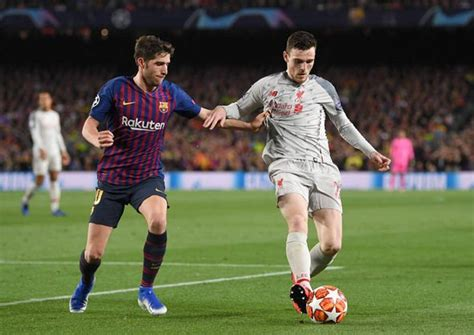 barcelona player ratings  liverpool messi outrageous trio earn  coutinho struggles