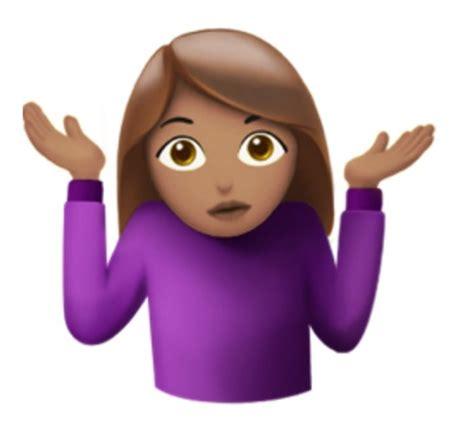 Image result for shrug shoulders emoji