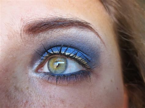 And Blue Eye by Prom Makeup For Blue Glam Gowns