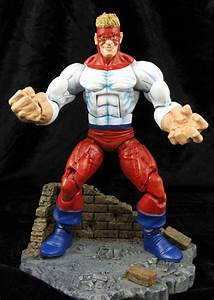 "Custom Marvel Legends Piledriver ""Wrecking Crew"" figure"