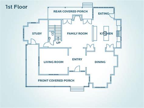 Home Design 1st Floor : Floor Plan For Hgtv Dream Home 2009