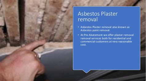 asbestos removal services pro abatement