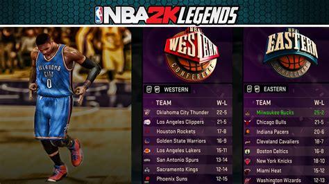 Nba Standing Playoffs by 2klegends Series Episode 7 Nba Allstars East West