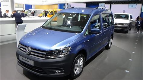 2019 Vw Caddy by 2019 Volkswagen Caddy Maxi Xtra Exterior And Interior