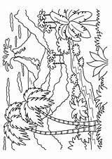 Volcano Coloring Momjunction Printable sketch template