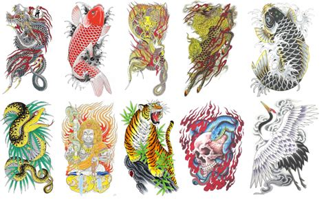 tattoos   characters   series