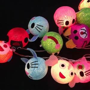 Guirlande Lumineuse Bébé : guirlande 20 boules animaux ~ Teatrodelosmanantiales.com Idées de Décoration
