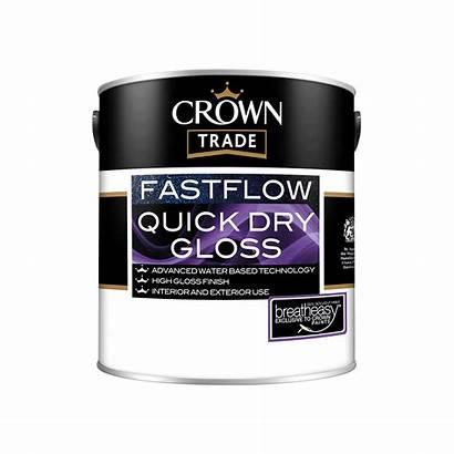 Crown Trade Fastflow Gloss Quick Dry Trim