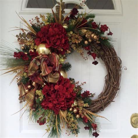 pictures of wreaths christmas wreath winter wreath holiday wreath holiday hydrangea wreath christmas decor designer
