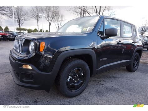 jeep renegade dark blue 2016 black jeep renegade sport 111010427 gtcarlot com