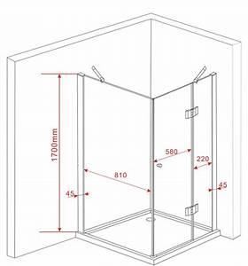 Dusche Ohne Duschtasse : duschkabine arto 90 x 90 x 170 cm ohne duschtasse alphabad ~ Indierocktalk.com Haus und Dekorationen