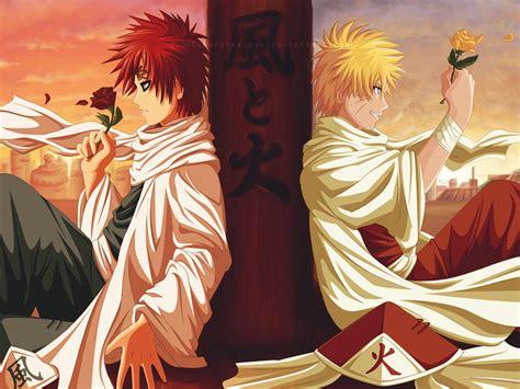 Naruto Shippuuden Images Naruto And Gaara Hd Wallpaper And