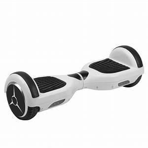 Hoverboard 1 Roue : hoverboard gyropode 2 roues skate lectrique blanc ~ Melissatoandfro.com Idées de Décoration