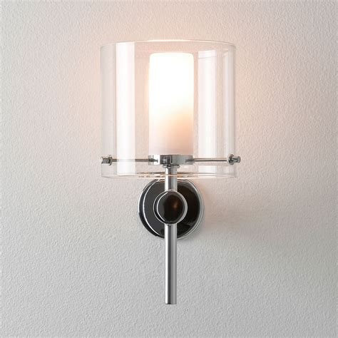 astro arezzo polished chrome bathroom wall light at uk electrical supplies