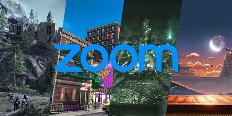 amazing  zoom video game backgrounds  official