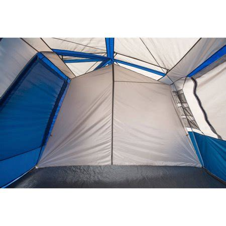 ozark trail 12 person instant cabin tent with screen room ozark trail 12 person 2 room instant cabin tent with