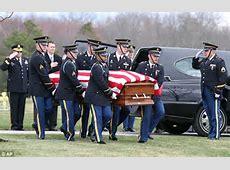 Funeral for US soldier and dadofthree Dennis Weichel