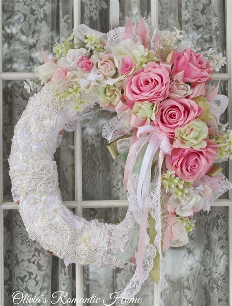 shabby chic wreaths hello my darlings