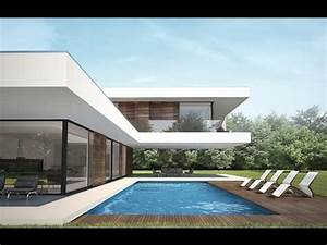 Modern house project Villa C by NG architects - YouTube  Modern