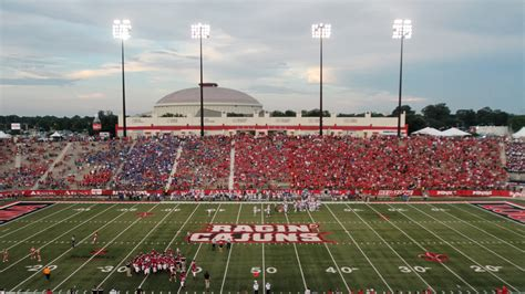 Louisiana football: Cajun Field fit to host game vs ...