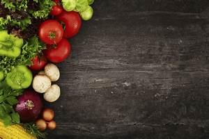 Dark Wood And Vegetables For Excellent Decorating Slate
