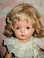 """VINTAGE ALL COMPOSITION MARKED PETITE 13"""" CAROL ANN BEERY ..."""