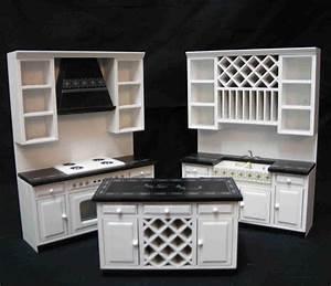 Küchen Modern Weiß : k chen set modern in wei swisttaler puppenstuebchen ~ Markanthonyermac.com Haus und Dekorationen