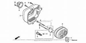 Honda Engines Gcv160la A1af Engine  Usa  Vin  Gjaea