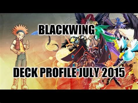 top tier decks yugioh october 2015 blackwing deck profile july 2015