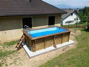 Piscine Hors Sol Bois So Piscine