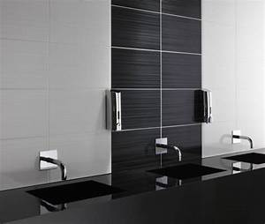 Badezimmer Grauer Boden Weiße Wand : 52 fotos von badezimmer in schwarz und wei ~ Bigdaddyawards.com Haus und Dekorationen