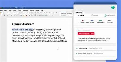 Grammarly Word Mac Microsoft Directly Window Sidebar