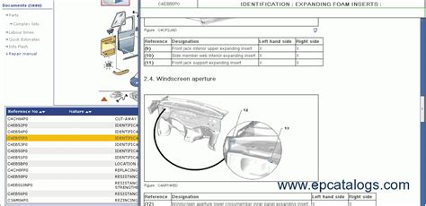 Peugeot 2013 Repair And Spare Parts Catalog Download