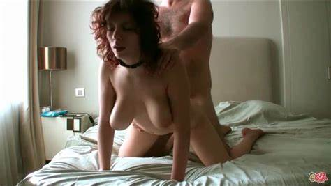 Thankful Curly Going To The Limit Brunette Hair Home Model Slowly Bouncing His Exotic Cocks