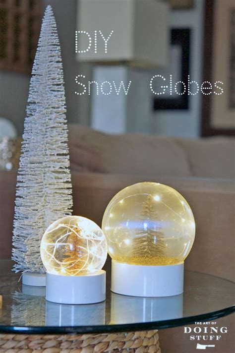 diy snowglobe make your own real snow globe the of doing stuffthe of doing stuff