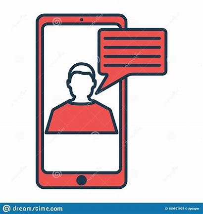 Hi Tech Symbol Icon Technical Chat Simple