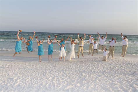 Destin Florida Barefoot Beach Wedding