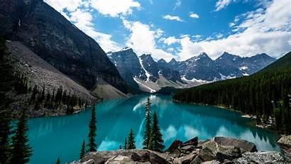 4k Lake Canada Moraine 3840 2160 Wallpapers
