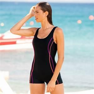 Daxon Maillot De Bain : maillot de bain combishort sp cial piscine blancheporte ~ Melissatoandfro.com Idées de Décoration