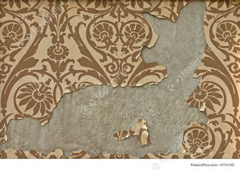 peeling wallpaper picture