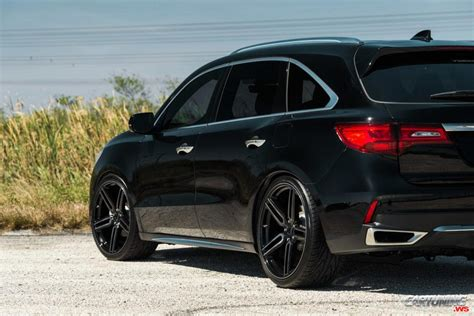 stance acura mdx 2018 rear