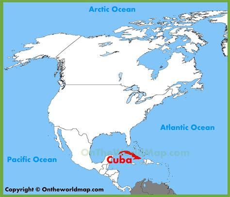 kuba auf der karte kuba standort auf der karte karibik
