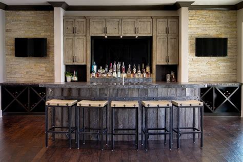 basement bar ideas basement bar ideas with black and white theme Rustic