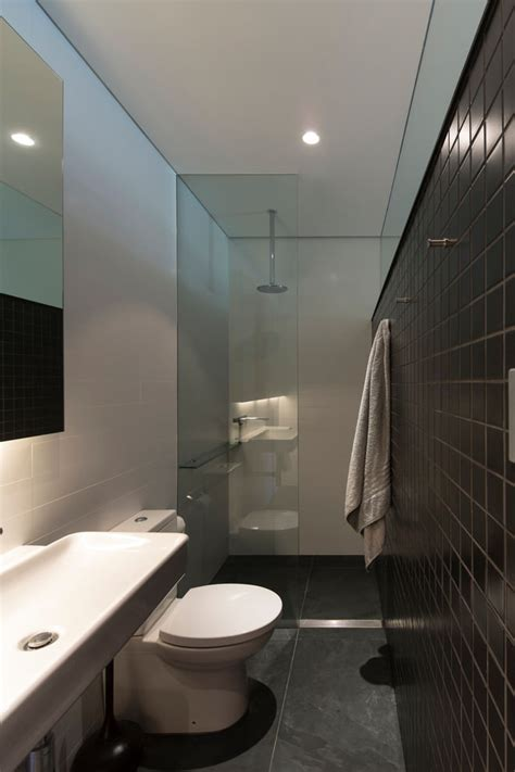 black and white bathroom tile design ideas 25 narrow bathroom designs decorating ideas design trends
