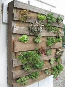 16 Awesome Pallet Garden Planter Ideas DIY to Make