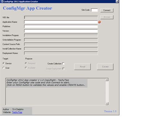 Application Creator by Configmgr 2012 Application Creator V1 0 Powershell Tool